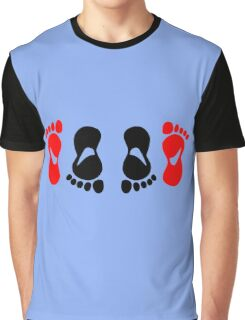 feet making love amour Graphic T-Shirt