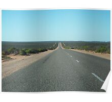 The Great Open Road Nullarbor Poster