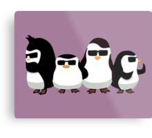 Penguins of Madagascar Metal Print