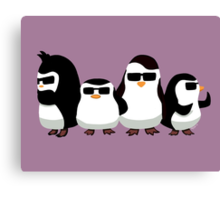 Penguins of Madagascar Canvas Print
