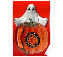 WHO U GONNA CALL ...GHOST BUSTERS..I AIN'T AFRAID OF NO GHOST...PICTURE AND OR CARD Poster