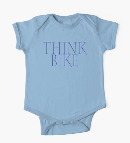 Bike, Biking, Biker, Bicycle, Cycle, Cycling, Motorbike, Think Bike! One Piece - Short Sleeve