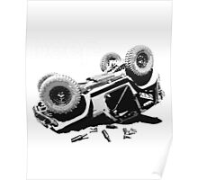 jeep back roll Poster