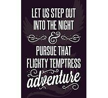 Into the Night Photographic Print