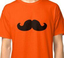 mustache young men moustache Classic T-Shirt