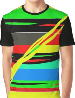 Simple colorful lines Graphic T-Shirt