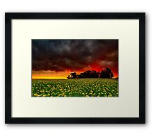 """Firestorm"" Framed Print"