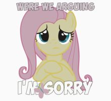 Fluttershy is Sorry One Piece - Short Sleeve