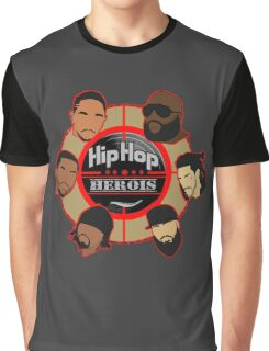 hiphop hiroes Graphic T-Shirt
