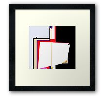 Simple abstraction Framed Print