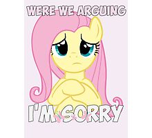 Fluttershy is Sorry Photographic Print