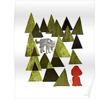 Lil Red Riding Hood Duely  Poster
