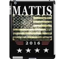 General James Mad Dog Mattis Secretary of Defense iPad Case/Skin