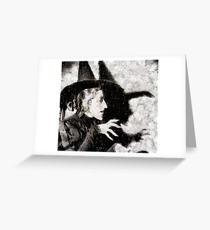 Wicked Witch, Wizard of Oz Greeting Card