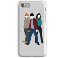 Always These Three - Harry, Ron and Hermione  iPhone Case/Skin