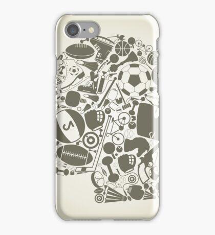 Head sports iPhone Case/Skin