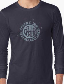 Hallo World - Ink In Milk Long Sleeve T-Shirt