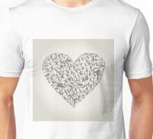 Heart sports Unisex T-Shirt