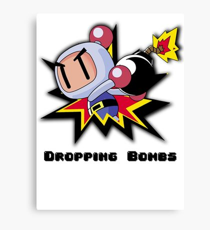 Dropping Bombs Canvas Print