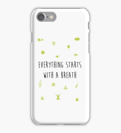 Yoga Relax iPhone Case/Skin