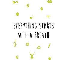 Breath Photographic Print