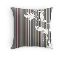 Line Design Throw Pillow