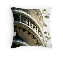 Twisted Beauty Throw Pillow