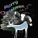 Merry Old Santa by mindprintz