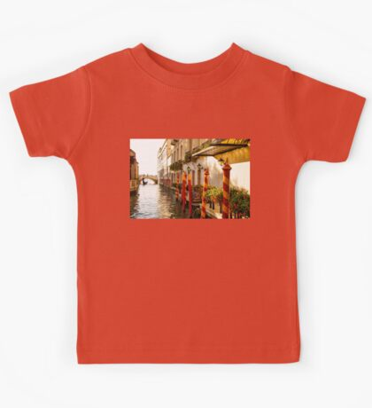 Impressions Of Venice - Signature Candy Stripped Paline Kids Tee