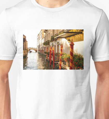 Impressions Of Venice - Signature Candy Stripped Paline Unisex T-Shirt