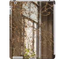 Old window in abandoned house iPad Case/Skin