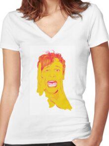 @gublernation Women's Fitted V-Neck T-Shirt