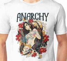 TATTOO GIRL - ANARCHY Unisex T-Shirt