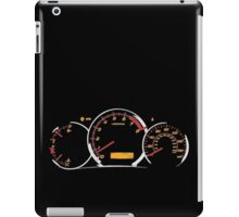 WRX gauges iPad Case/Skin
