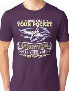 Kayak Fill Your Soul T-shirt Unisex T-Shirt
