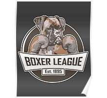 Boxer League Poster