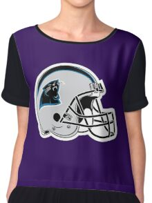 carolina panthers Chiffon Top
