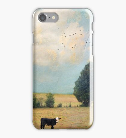 """Cyan Skies"" iPhone Case/Skin"
