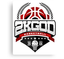 NBA 2KGOD Canvas Print