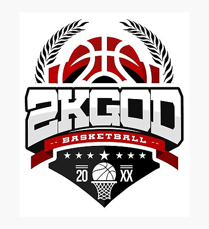 NBA 2KGOD Photographic Print