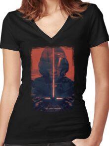 Awaken Women's Fitted V-Neck T-Shirt