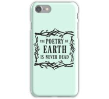 John Keats - The Poetry of Earth is Never Dead iPhone Case/Skin