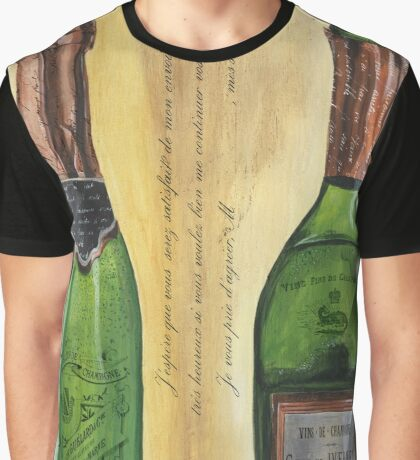Bubbly Champagne 1 Graphic T-Shirt