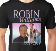 Robin Williams Retro R.I.P. Unisex T-Shirt