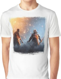 battle Graphic T-Shirt