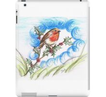 Robin's  Berry Treat iPad Case/Skin