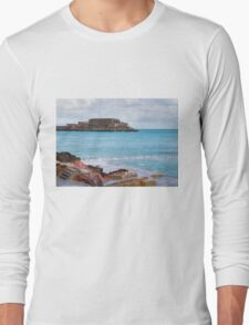Natural Pool in Guernsey Long Sleeve T-Shirt