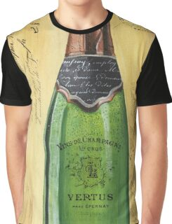 Bubbly Champagne 2 Graphic T-Shirt