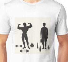 Sportsman and alcoholic Unisex T-Shirt
