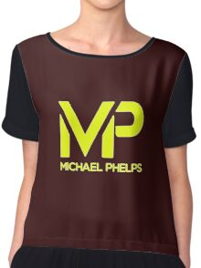the swimmer phelps Chiffon Top